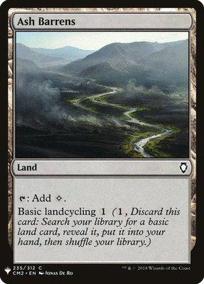 Mystery Booster/The List: Ash Barrens