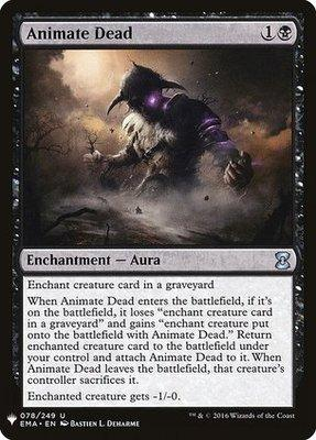 Mystery Booster: Animate Dead