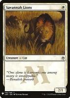 Mystery Booster/The List: Savannah Lions