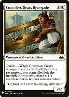 Mystery Booster/The List: Countless Gears Renegade