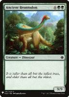 Mystery Booster/The List: Ancient Brontodon