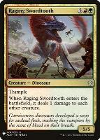 Mystery Booster/The List: Raging Swordtooth