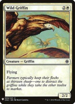 Mystery Booster/The List: Wild Griffin