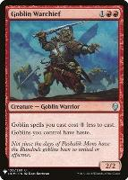 Mystery Booster/The List: Goblin Warchief
