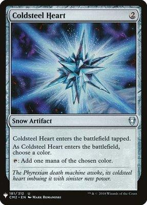 Mystery Booster/The List: Coldsteel Heart
