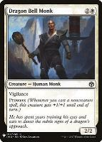 Mystery Booster/The List: Dragon Bell Monk