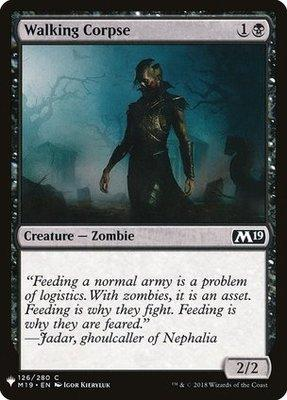 Mystery Booster/The List: Walking Corpse