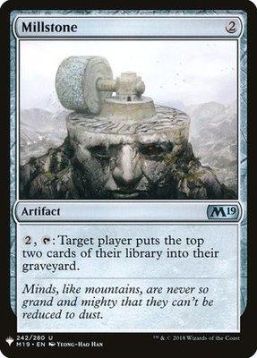 Mystery Booster: Millstone