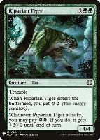 Mystery Booster/The List: Riparian Tiger