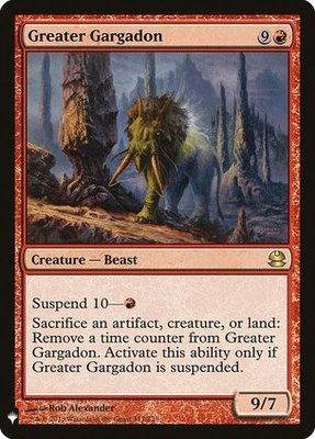 Mystery Booster: Greater Gargadon
