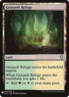 Mystery Booster/The List: Graypelt Refuge