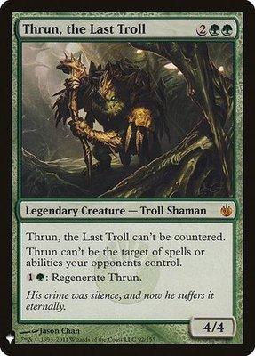 Mystery Booster/The List: Thrun, the Last Troll