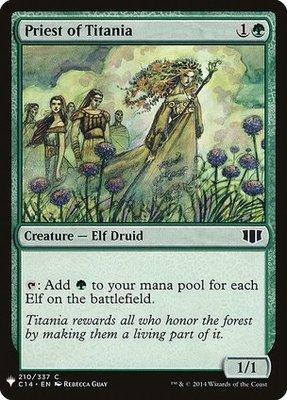 Mystery Booster/The List: Priest of Titania