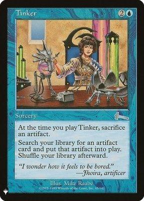 Mystery Booster/The List: Tinker