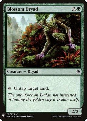 Mystery Booster/The List: Blossom Dryad