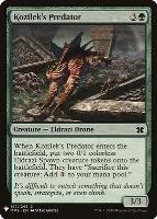 Mystery Booster/The List: Kozilek's Predator
