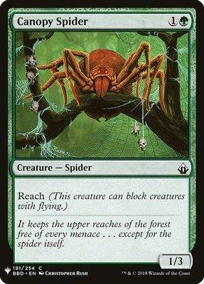 Mystery Booster/The List: Canopy Spider