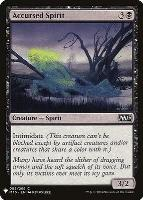 Mystery Booster: Accursed Spirit