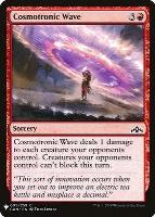 Mystery Booster/The List: Cosmotronic Wave