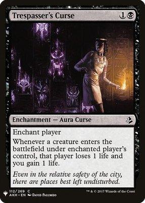 Mystery Booster: Trespasser's Curse