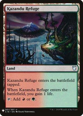 Mystery Booster: Kazandu Refuge