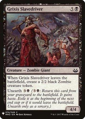 Mystery Booster: Grixis Slavedriver