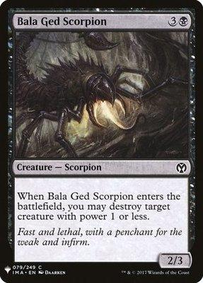 Mystery Booster/The List: Bala Ged Scorpion