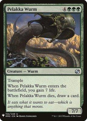 Mystery Booster: Pelakka Wurm