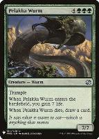 Mystery Booster/The List: Pelakka Wurm