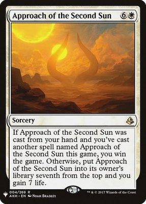 Mystery Booster: Approach of the Second Sun