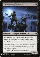 Mystery Booster/The List: Kalastria Nightwatch