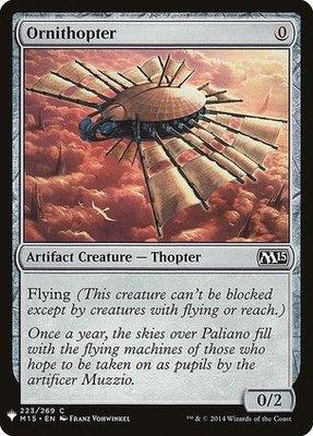 Mystery Booster/The List: Ornithopter