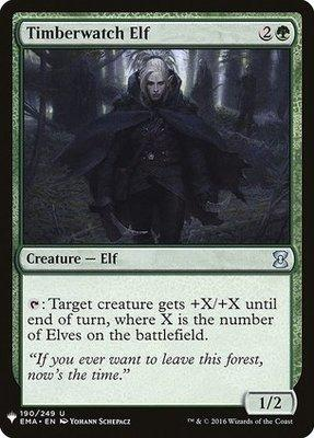 Mystery Booster/The List: Timberwatch Elf