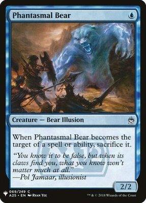 Mystery Booster/The List: Phantasmal Bear