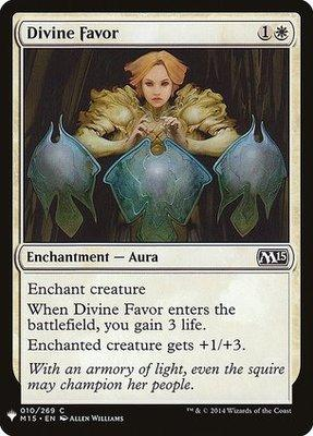Mystery Booster/The List: Divine Favor