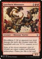 Mystery Booster/The List: Gorehorn Minotaurs