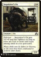Mystery Booster/The List: Inquisitor's Ox