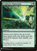 Mystery Booster/The List: Explosive Vegetation