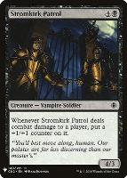 Mystery Booster/The List: Stromkirk Patrol