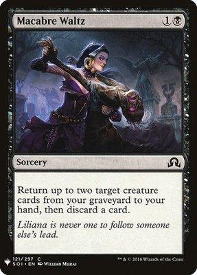 Mystery Booster/The List: Macabre Waltz