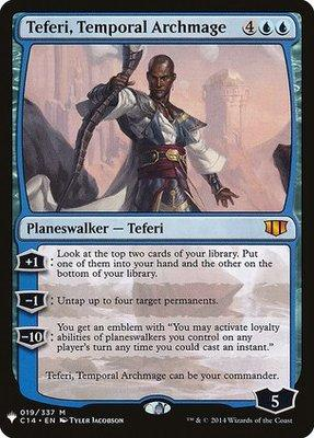 Mystery Booster/The List: Teferi, Temporal Archmage