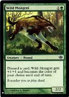 Mystery Booster/The List: Wild Mongrel
