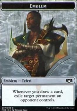Masterpiece Series: Mythic Edition: Emblem (Teferi)