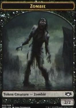 Masterpiece Series: Mythic Edition: Zombie Token