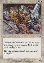 Nemesis Foil: Chieftain en-Dal
