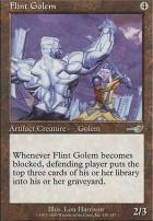 Nemesis Foil: Flint Golem