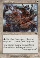 Nemesis Foil: Lawbringer