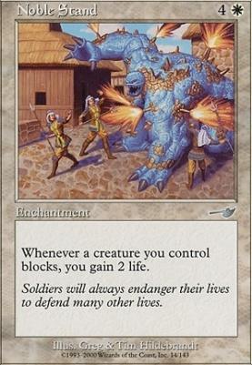 Nemesis Foil: Noble Stand