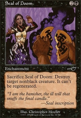 Nemesis Foil: Seal of Doom