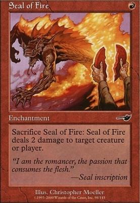 Nemesis Foil: Seal of Fire